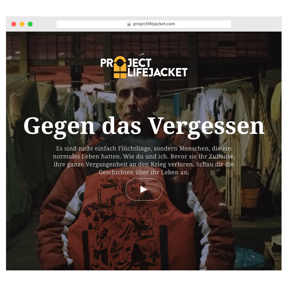Project Life Jacket Website